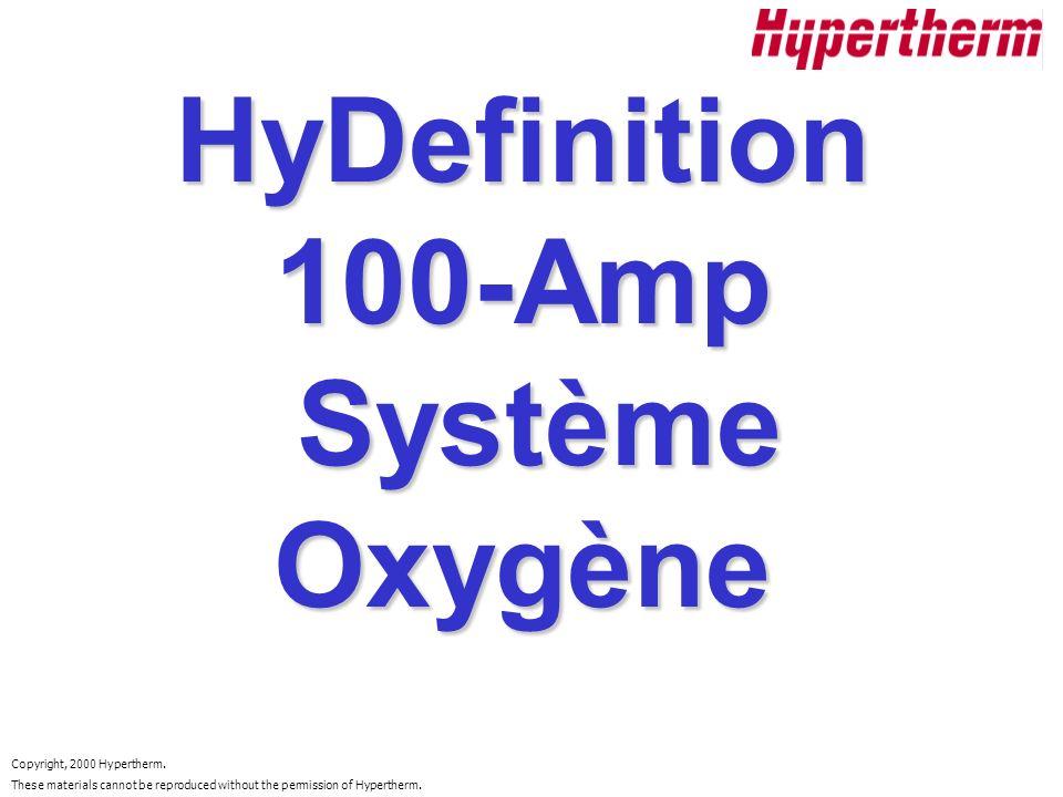 HyDefinition 100-Amp Système Oxygène