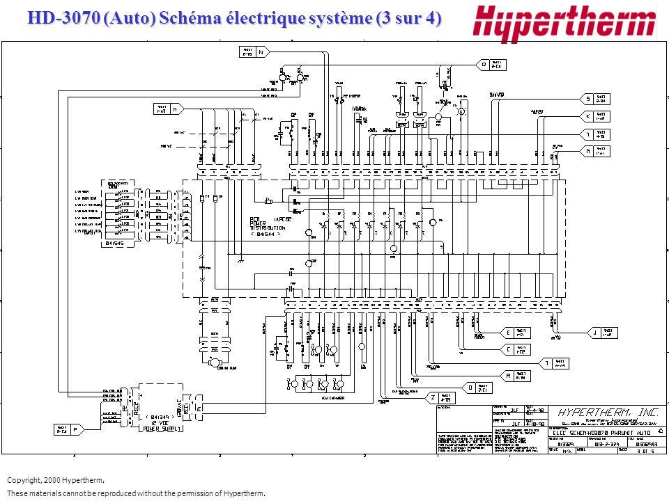 HD-3070 (Auto) Schéma électrique système (3 sur 4)