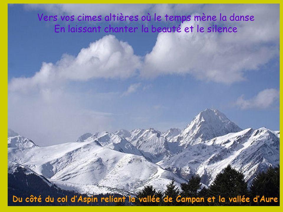 Du côté du col d'Aspin reliant la vallée de Campan et la vallée d'Aure
