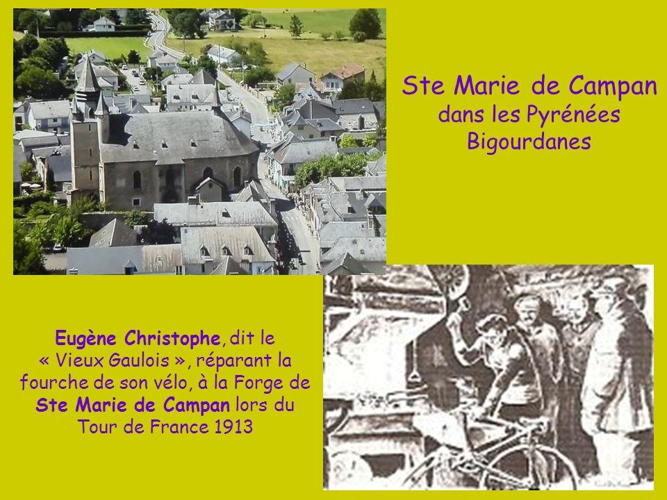 Ste Marie de Campan dans les Pyrénées Bigourdanes