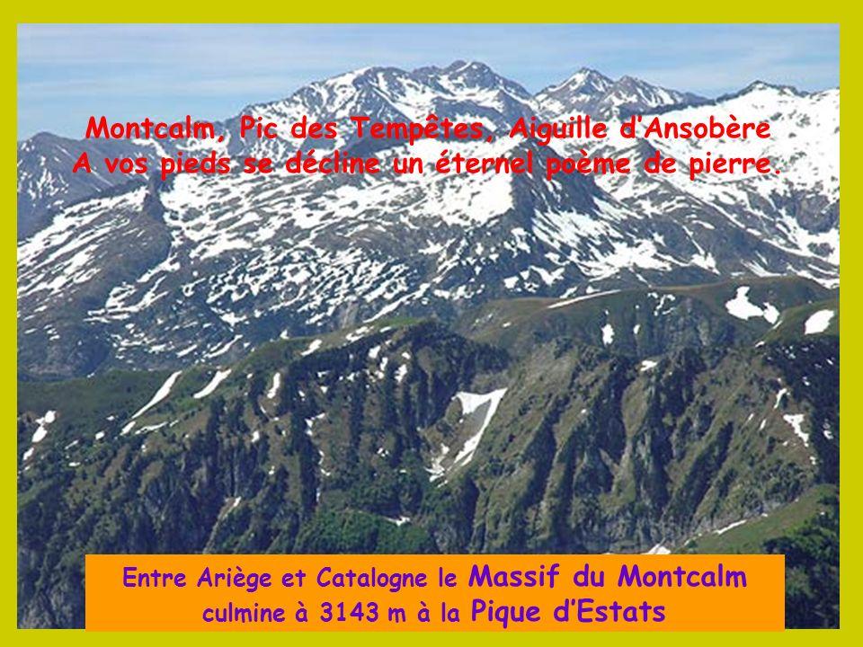 Montcalm, Pic des Tempêtes, Aiguille d'Ansobère