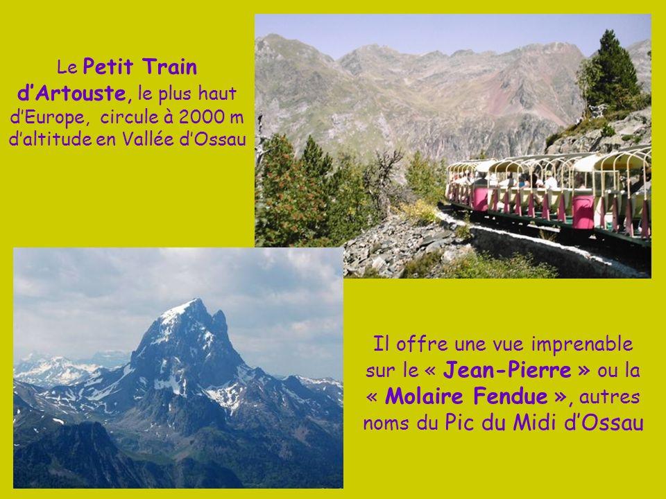 Le Petit Train d'Artouste, le plus haut d'Europe, circule à 2000 m d'altitude en Vallée d'Ossau