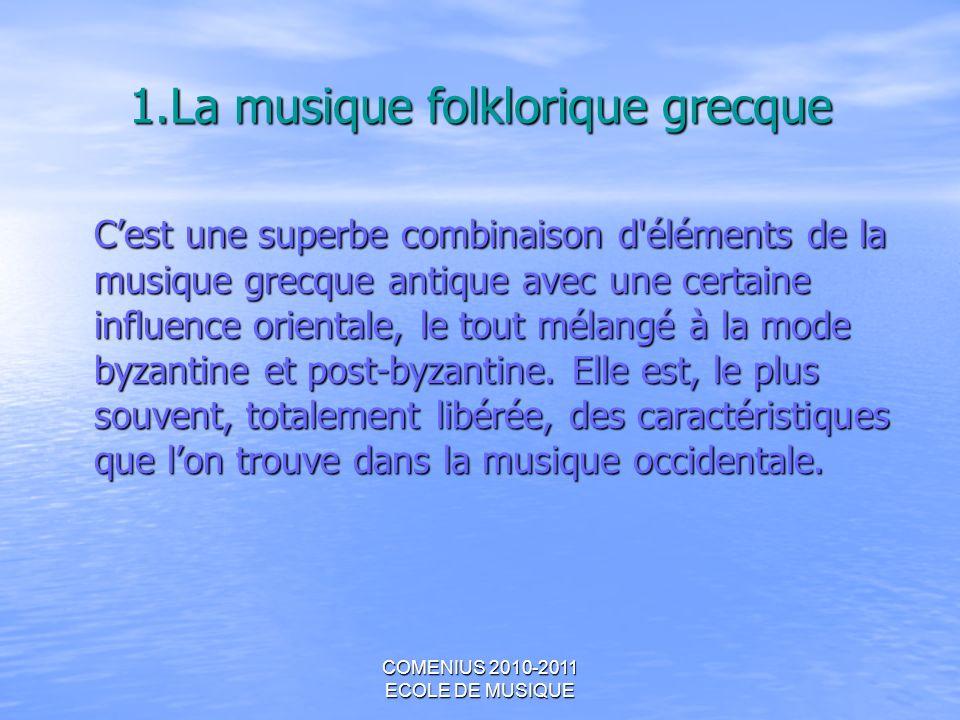 1.La musique folklorique grecque