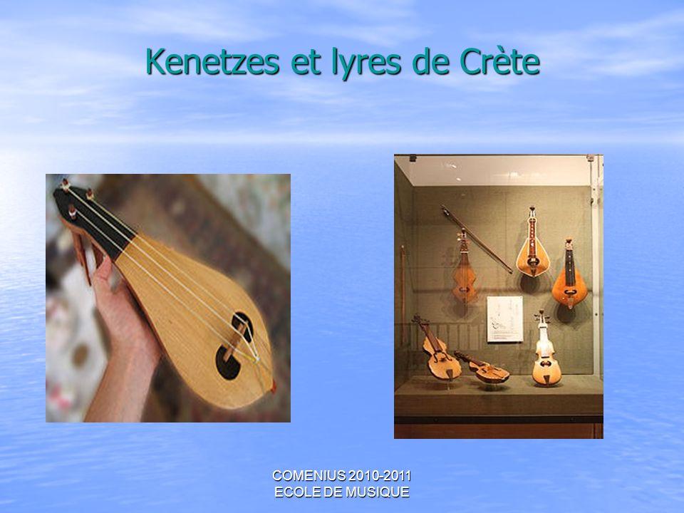Kenetzes et lyres de Crète