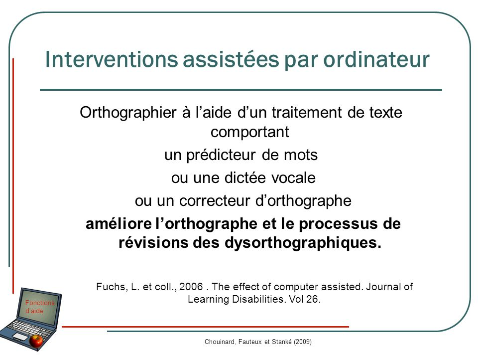 Interventions assistées par ordinateur