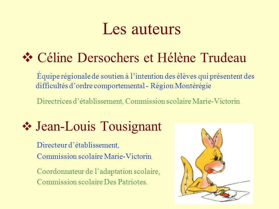 Les auteurs Céline Dersochers et Hélène Trudeau
