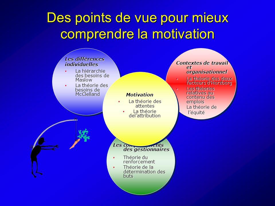 Des points de vue pour mieux comprendre la motivation