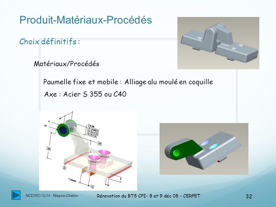 Produit-Matériaux-Procédés