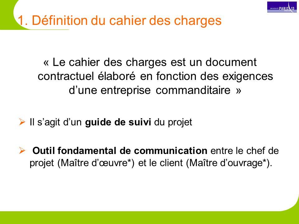 Focus le cahier de charges fonctionnel ppt video online t l charger - Difference entre maitre d oeuvre et maitre d ouvrage ...