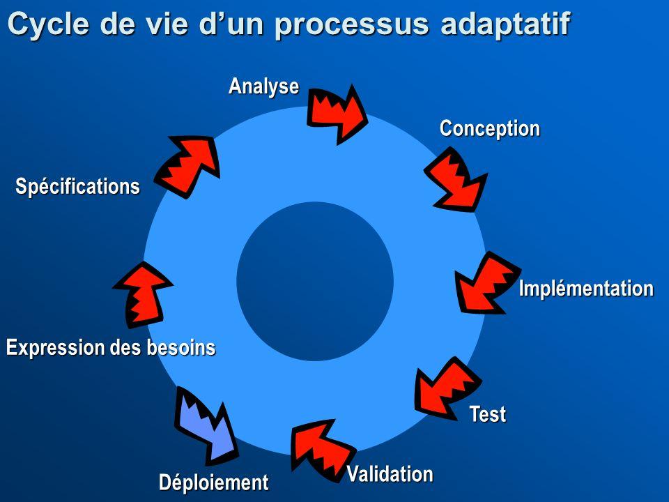 Cycle de vie d'un processus adaptatif