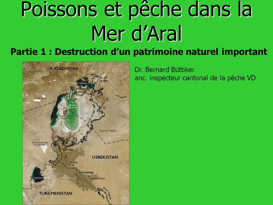 Poissons et pêche dans la Mer d'Aral