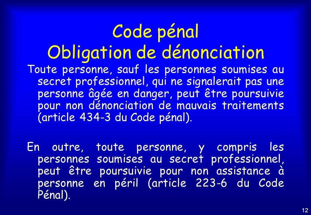 Pr vention de la maltraitance des a n s fragilis s ppt - Coups et blessures volontaires code penal ...