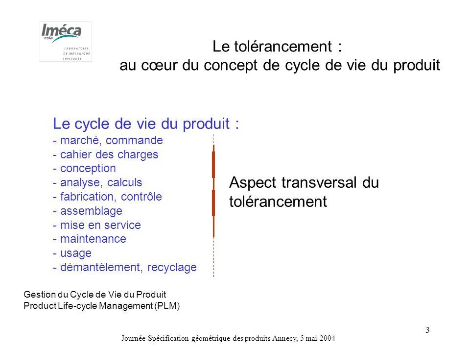 au cœur du concept de cycle de vie du produit