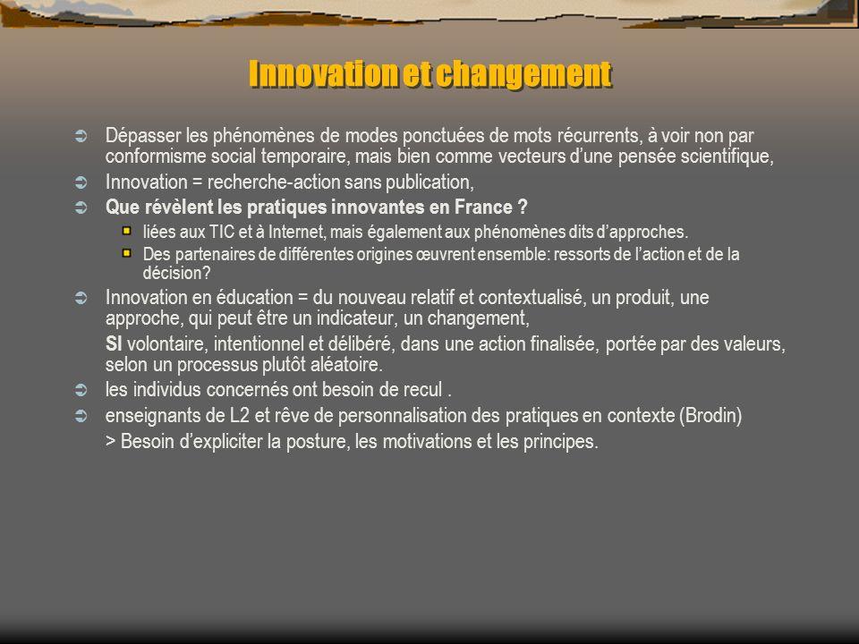 Innovation et changement