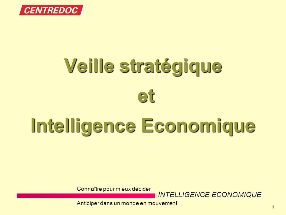 Veille stratégique et Intelligence Economique
