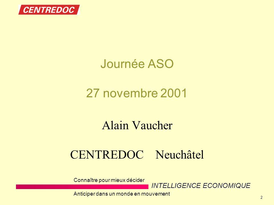 Alain Vaucher CENTREDOC Neuchâtel