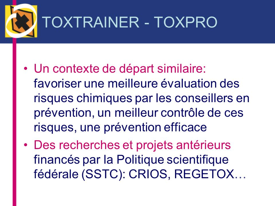 TOXTRAINER - TOXPRO
