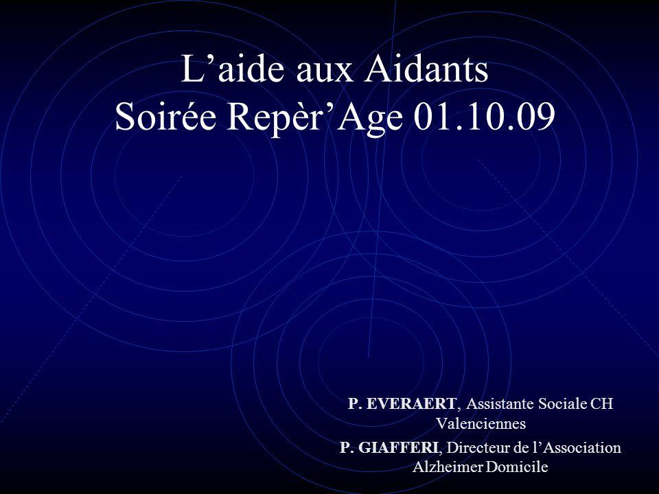 L'aide aux Aidants Soirée Repèr'Age 01.10.09