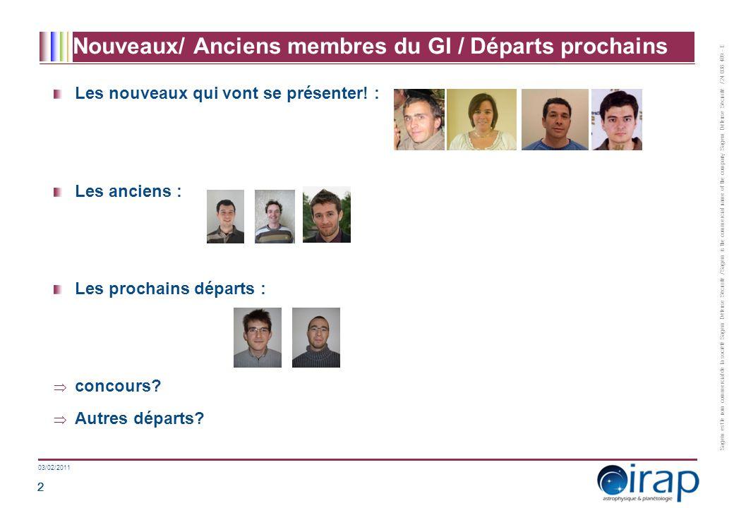 Point sur les profils de poste demandés et leur priorité (CPS Groupes métiers 09/09/11)