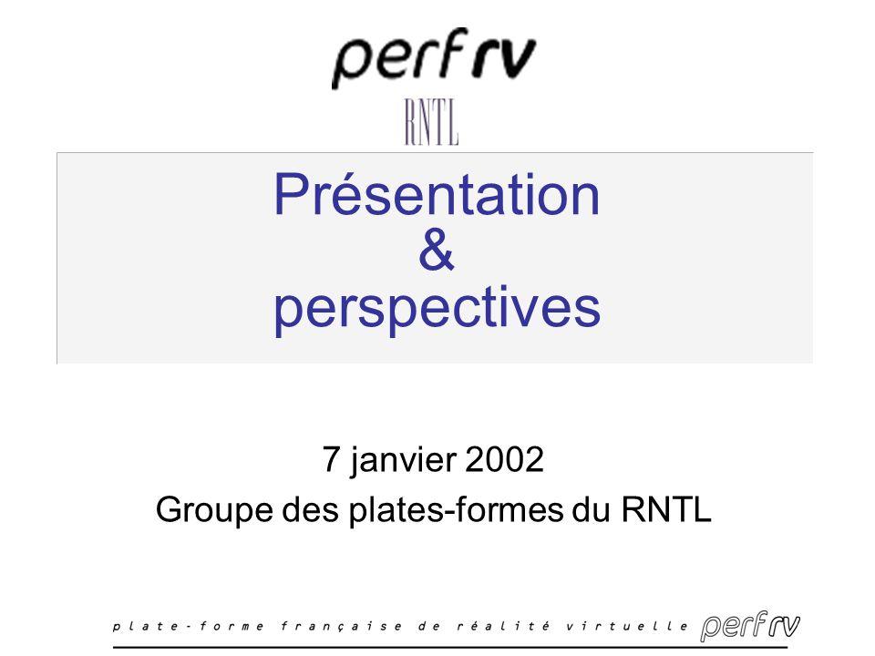 Présentation & perspectives