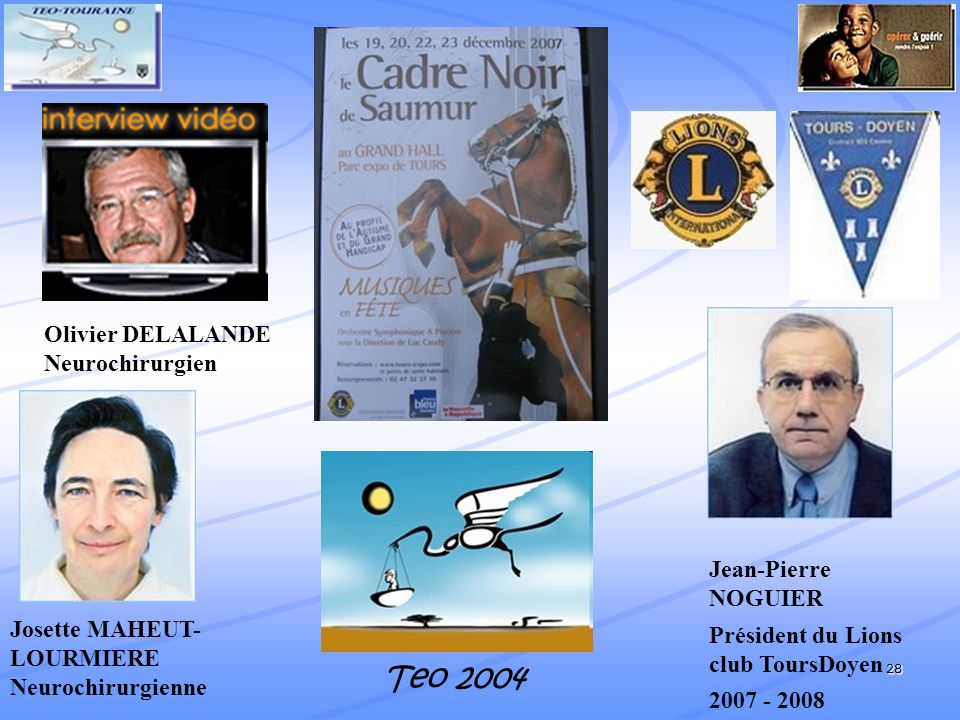 Teo 2004 Olivier DELALANDE Neurochirurgien Jean-Pierre NOGUIER