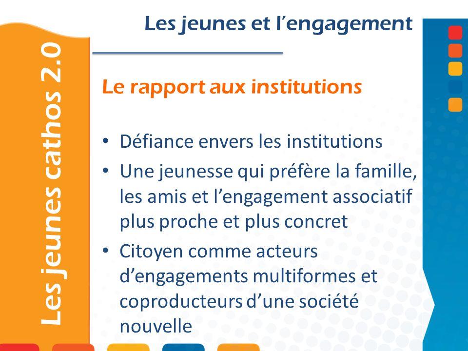 Le rapport aux institutions