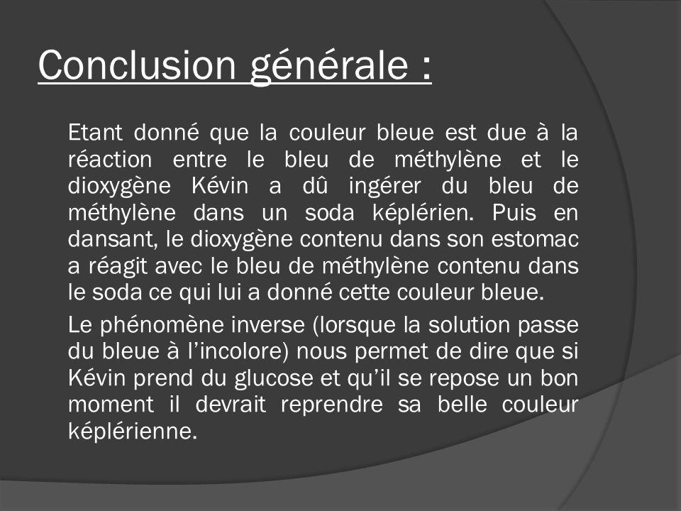 Conclusion générale :