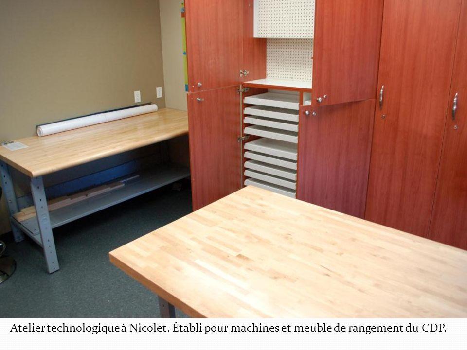 Atelier technologique à Nicolet
