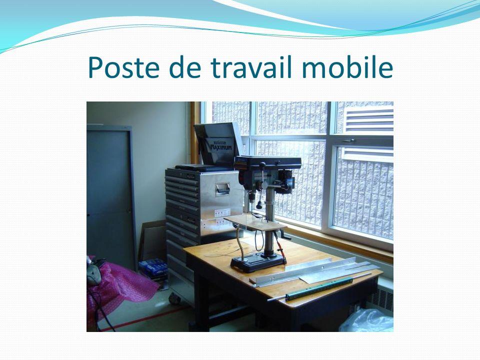 Poste de travail mobile