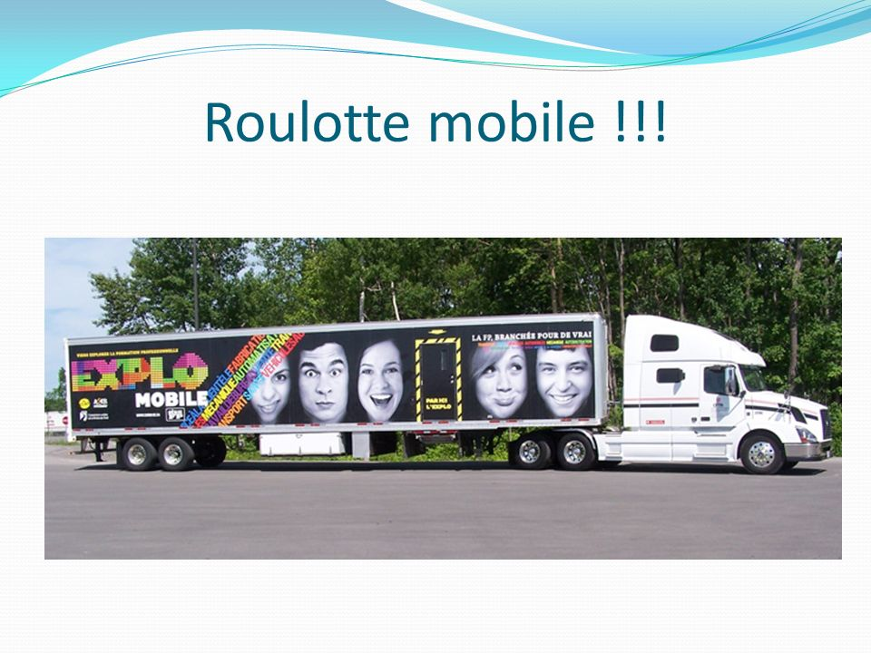 Roulotte mobile !!!
