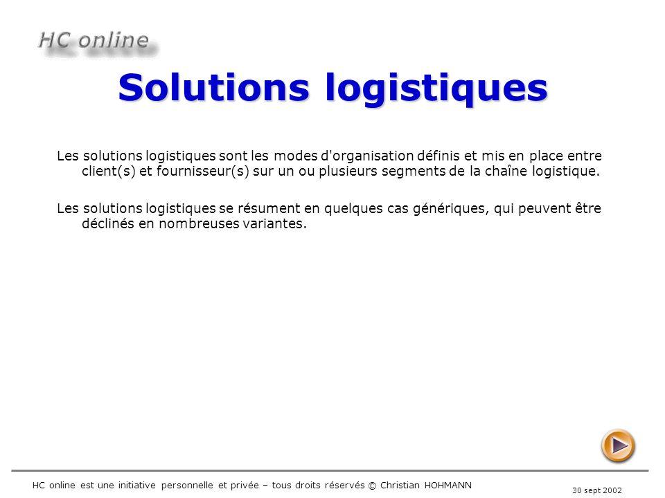 Solutions logistiques