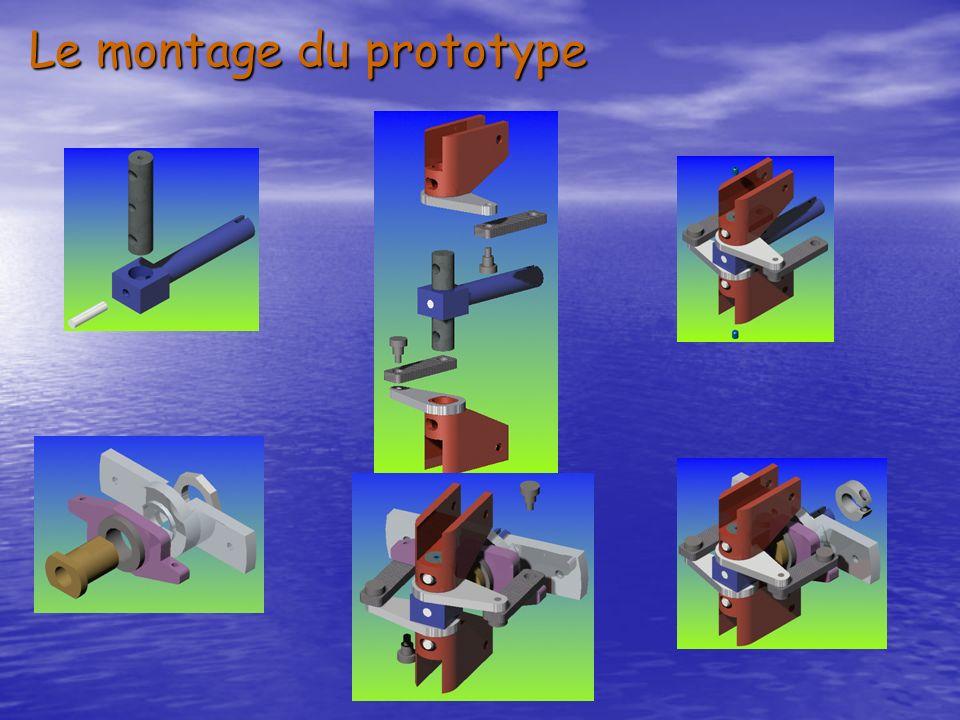 Le montage du prototype