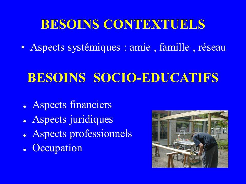 BESOINS SOCIO-EDUCATIFS
