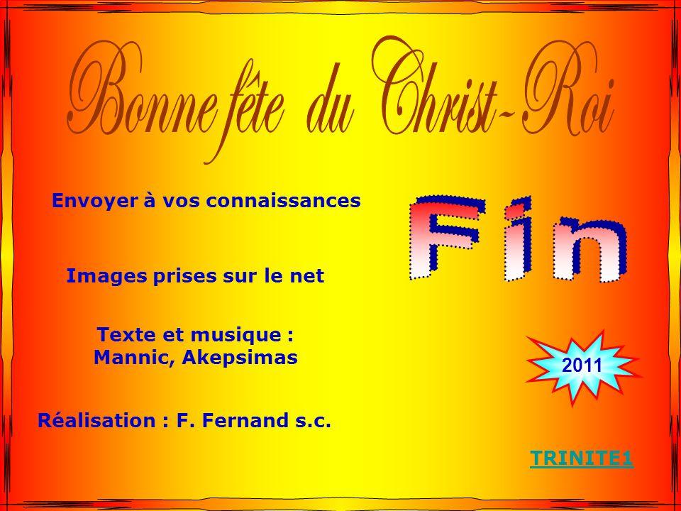 Bonne fête du Christ-Roi
