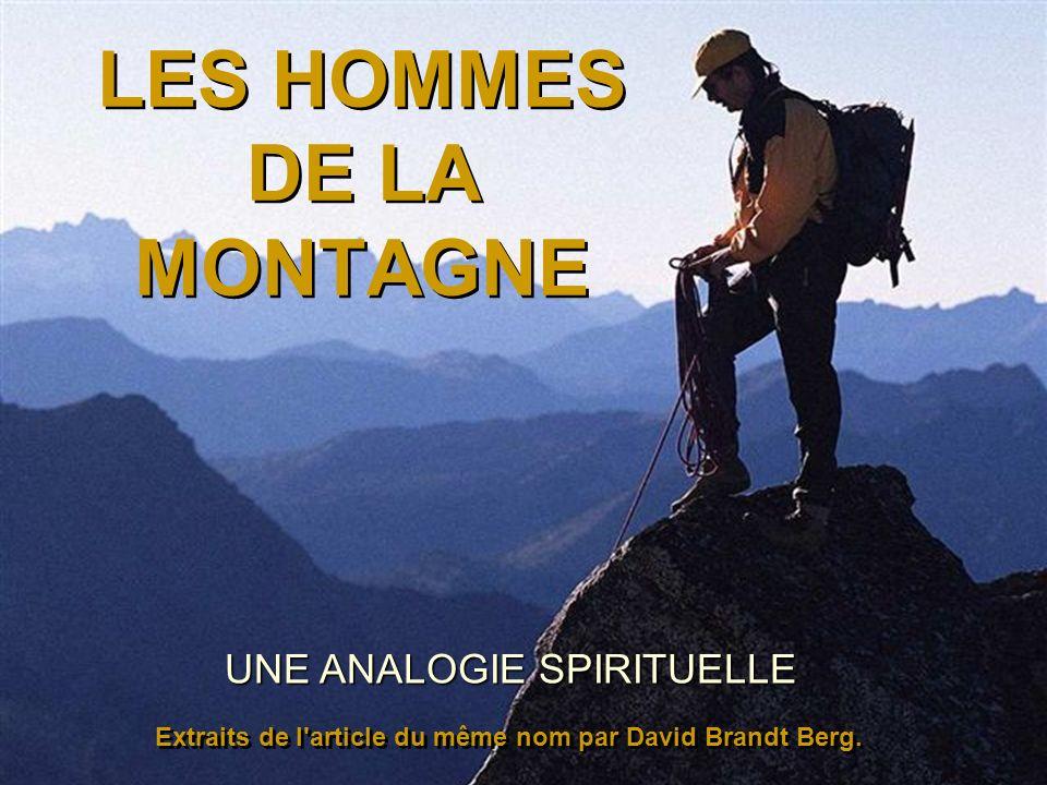 LES HOMMES DE LA MONTAGNE