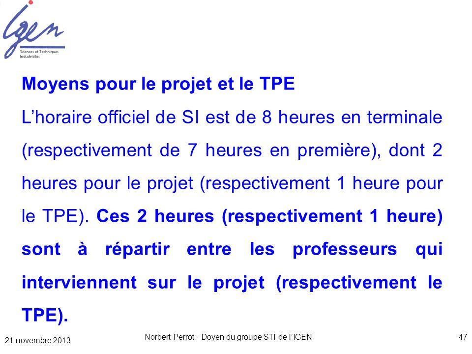 Norbert Perrot - Doyen du groupe STI de l'IGEN