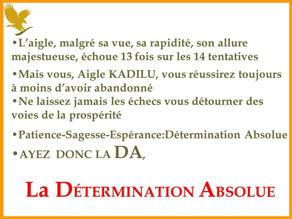 La DÉTERMINATION ABSOLUE