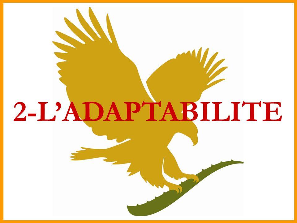 2-L'ADAPTABILITE