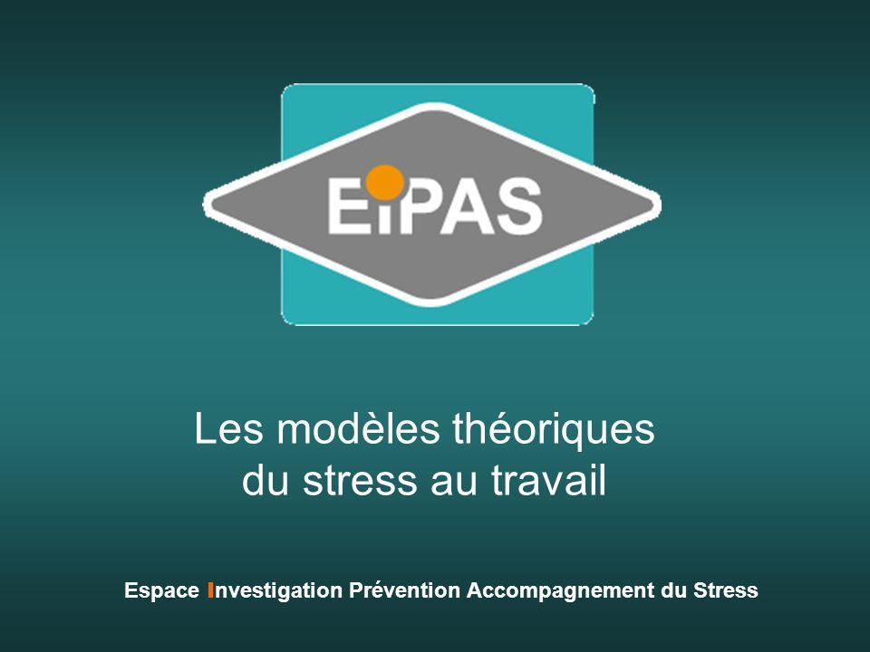 Les modèles théoriques du stress au travail