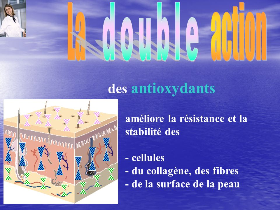 La action double des antioxydants