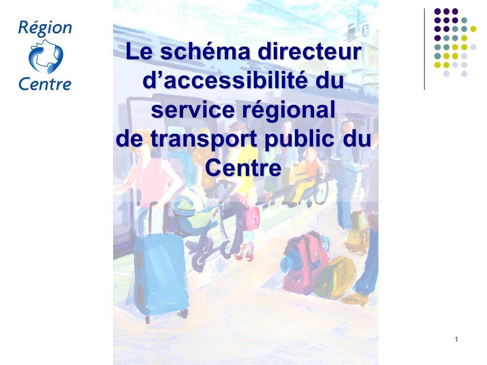 Le schéma directeur d'accessibilité du service régional