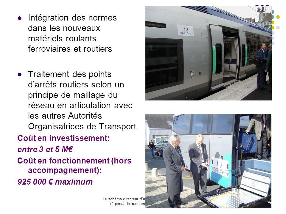 Intégration des normes dans les nouveaux matériels roulants ferroviaires et routiers
