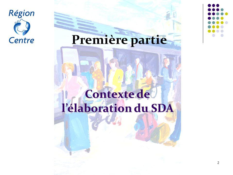 Contexte de l'élaboration du SDA