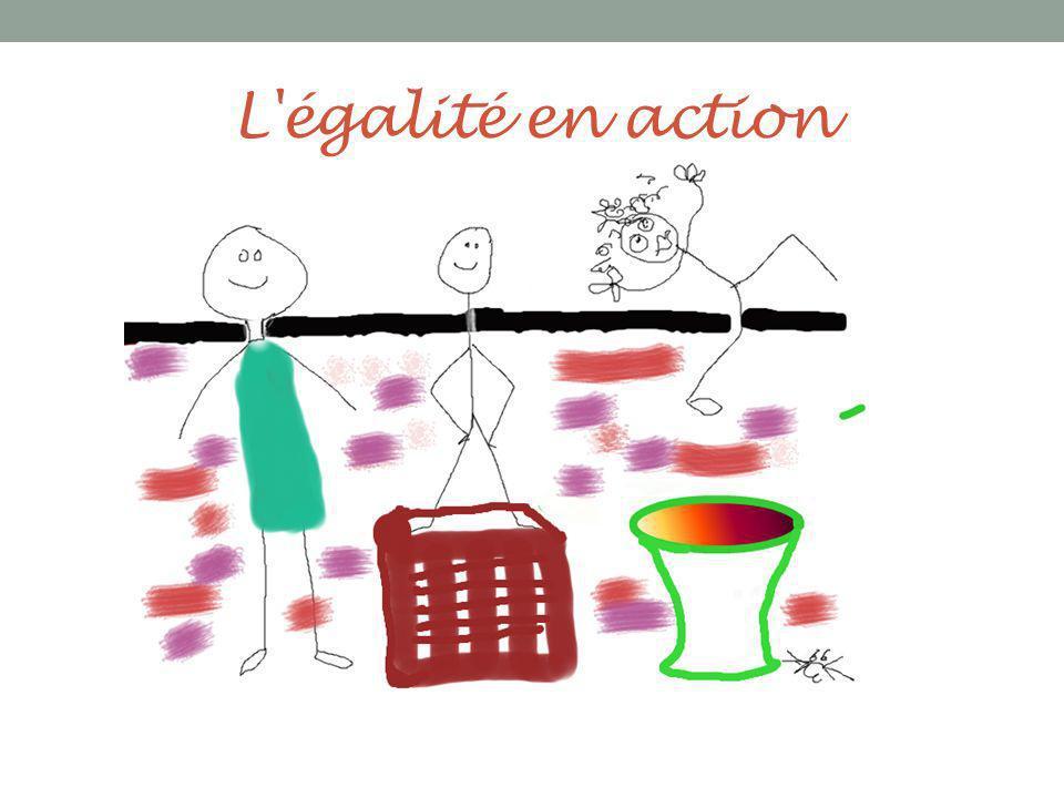 L égalité en action
