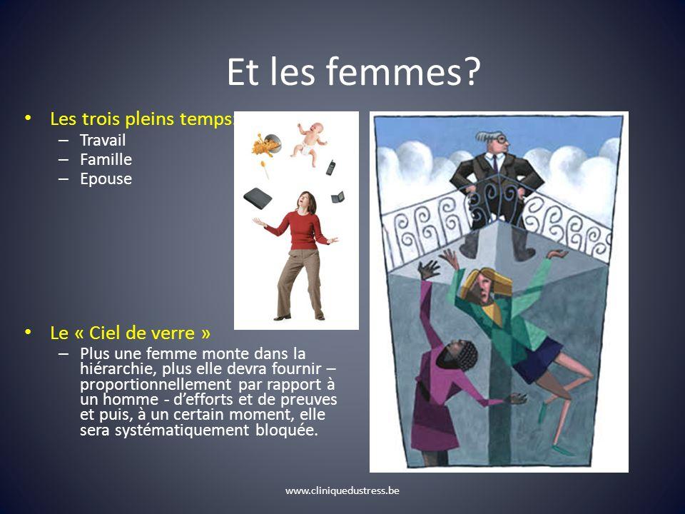 Et les femmes Les trois pleins temps: Le « Ciel de verre » Travail