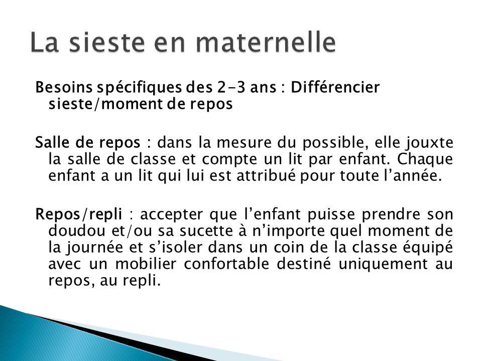 La sieste en maternelle ppt video online t l charger for Mobilier salle de repos