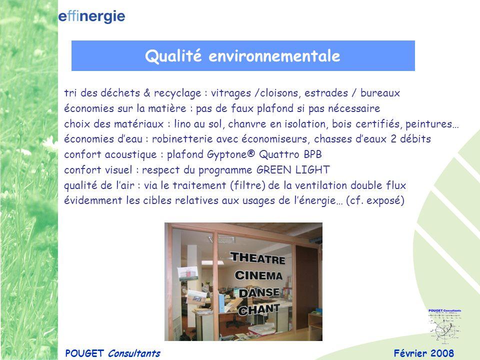 Qualité environnementale