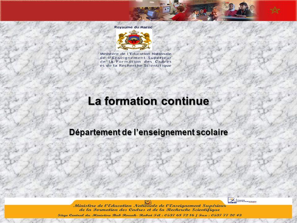 Département de l'enseignement scolaire
