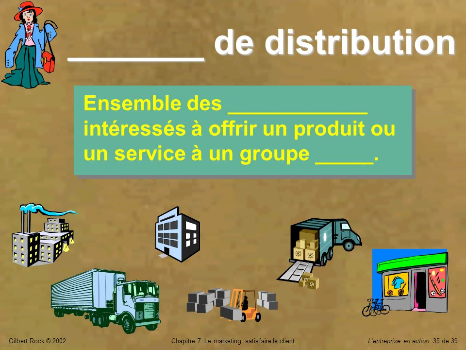 _______ de distribution