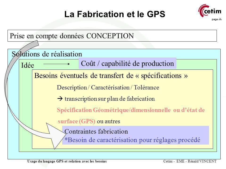 La Fabrication et le GPS
